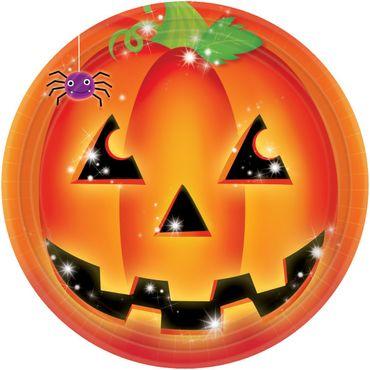 8 Partyteller Pumpkin