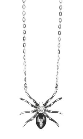 Halskette Black widow Spinne – Bild 1