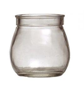 Teelichtglas klar