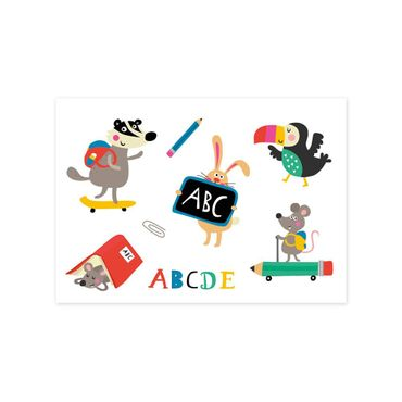 Kindertattoos ABC