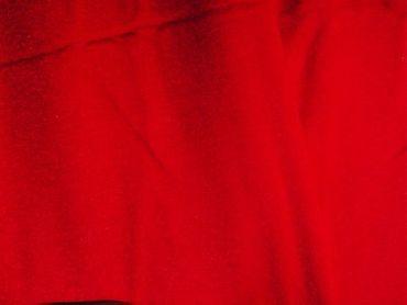 Jersey-Stretch uni rot