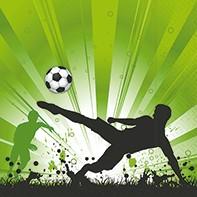 20 Servietten Fußball Soccer mania