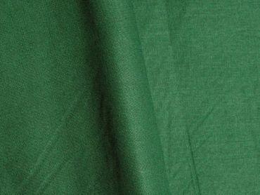 Baumwollstoff uni dunkelgrün