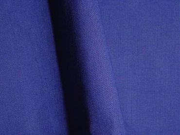 Baumwollstoff uni blau