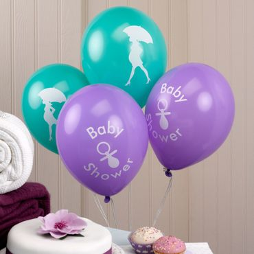 8 Ballons Baby Shower
