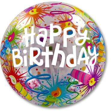 Bubble-Ballon Geburtstag Kerze