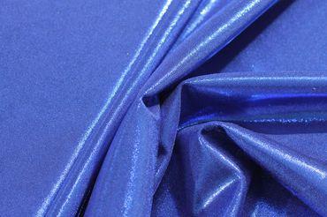 Lycra Luxe Glitter blau – Bild 1