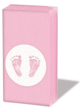 10 Taschentücher Baby Girl