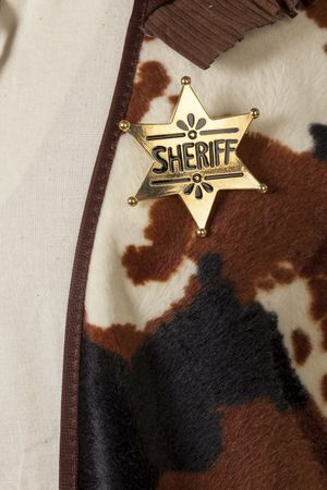 Sheriff-Stern gold