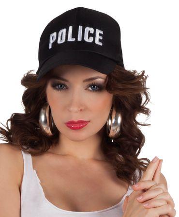 Basecap Police Schriftzug