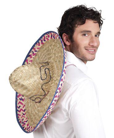 Sombrero bunter Rand