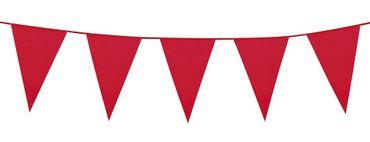 Wimpelkette 10m rot – Bild 1