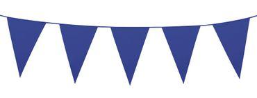 Wimpelkette 10m blau – Bild 1