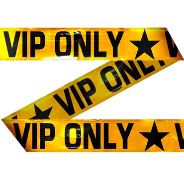 Absperrband VIP ONLY