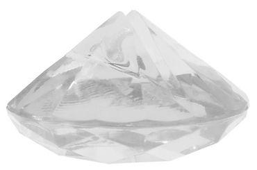 4 Kartenhalter Diamant klar