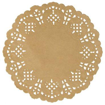 10 Tischsets Spitzenpapier Packpapier – Bild 1
