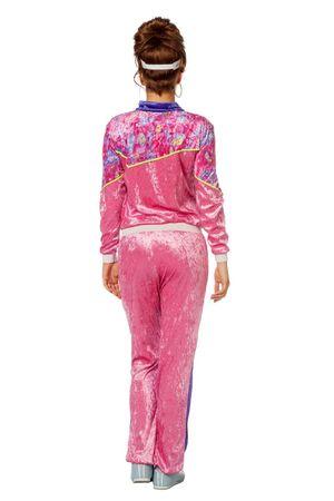Jogging-Anzug 80S rosa – Bild 3