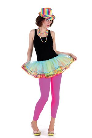 Leggings neonpink – Bild 2
