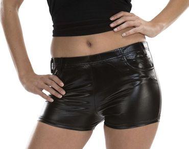 Hotpants schwarz – Bild 1