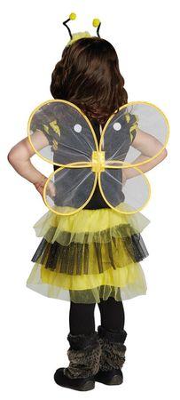 Bienchen-Kleid mit Flügeln – Bild 2