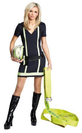 Kleid Sexy Feuerwehrfrau – Bild 1