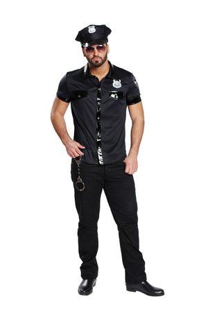 Sexy Polizist-Hemd