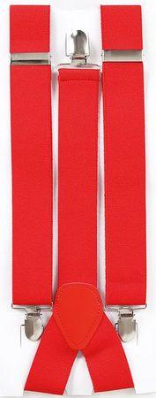 Hosenträger rot – Bild 1