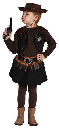 Little Cowgirl-Rock mit Weste – Bild 2