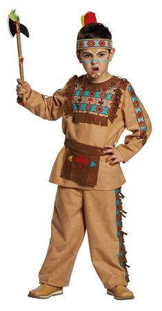Indianer-Anzug mit Gürtel – Bild 1
