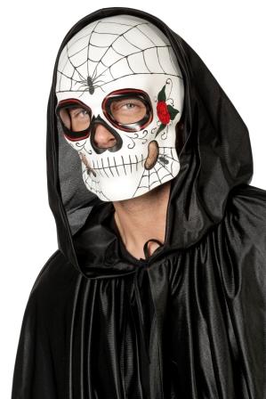 Maske Totenkopf de Luxe