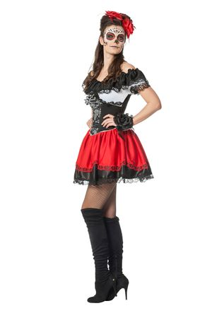 Day of the Dead-Kleid – Bild 2