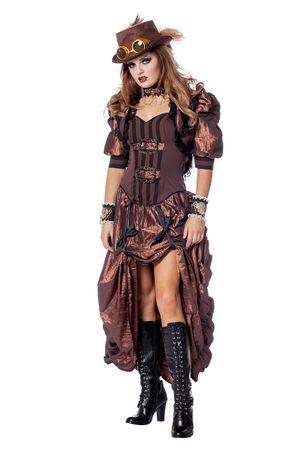 Steampunk-Kleid – Bild 1