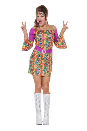 Hippiekleid mit Haarband – Bild 1