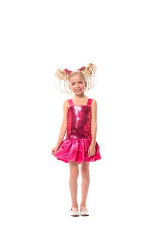 Pailletten-Kleid pink