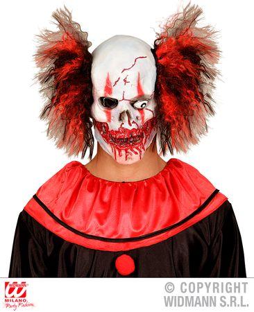 Maske Blutiger Clowntotenkopf – Bild 2