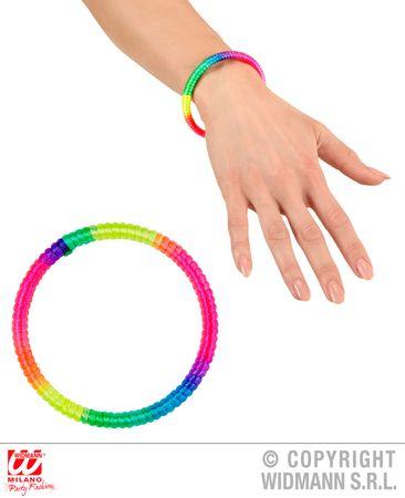 Armband Neon multicolor – Bild 1