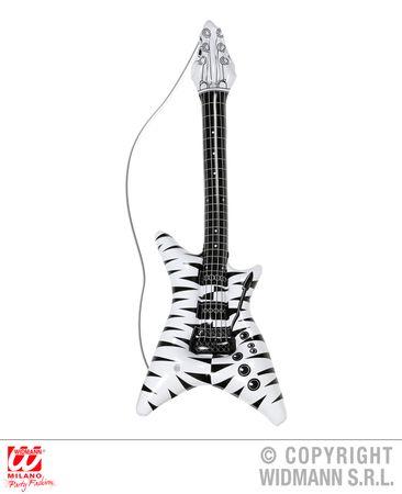 Gitarre Rockstar aufblasbar – Bild 1