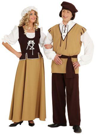 Mittelalter-Magd Kleid – Bild 3