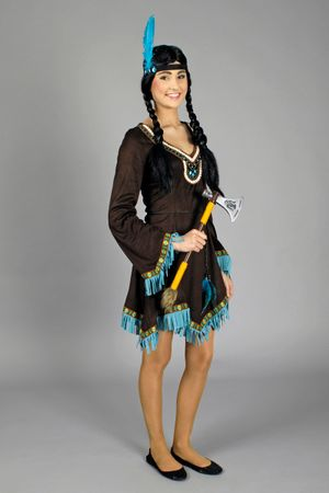 Indinanerin-Kleid Apache – Bild 2