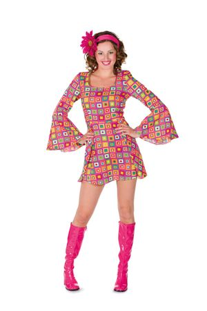 Kleid Gogo Girl Block pink