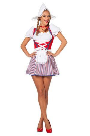 Sexy Holländerin Kleid - AUSLAUF