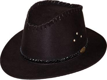 Cowgirl-Hut schwarz