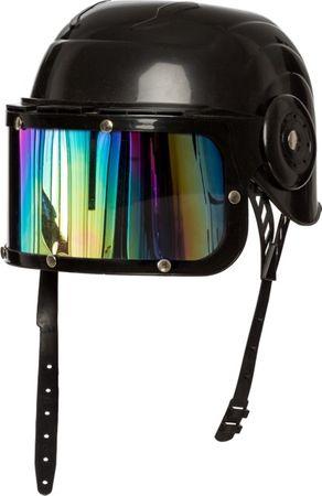 Helm schwarz