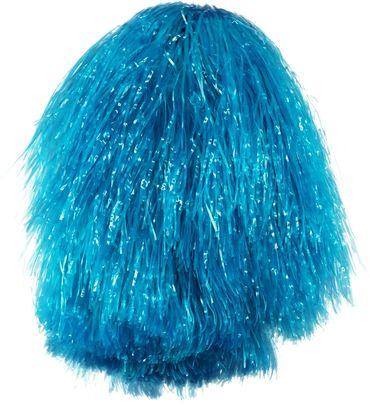 Cheerleader-Pompom blau