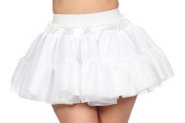 Petticoat weiß weich 2-lagig