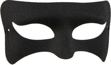 Augenmaske schwarz