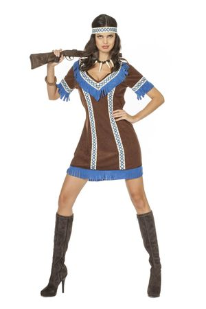 Kleid Indianerin Tenderfoot