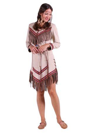 Indianerin-Kleid 'Black feather' – Bild 1