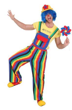 Clownhose gestreift Herren – Bild 1