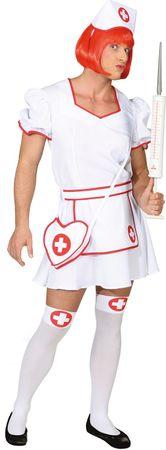 Krankenschwester-Kleid Herren